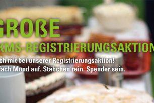 Spender sein – die große DKMS-Registrierungsaktion