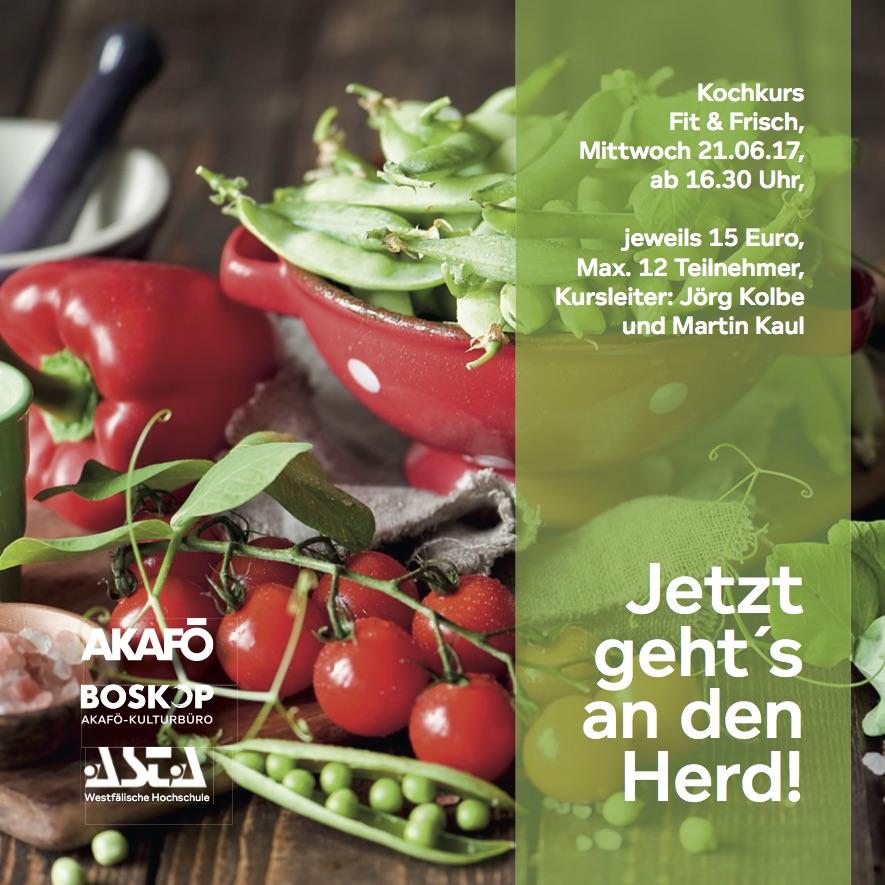 Kochkurs Fit & Frisch - AStA Westfälische Hochschule