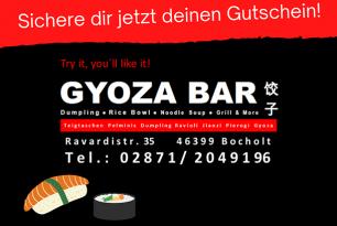 Gutscheine für Gyoza Bar Bocholt